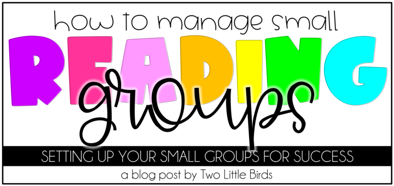 How to Manage Small Reading Groups