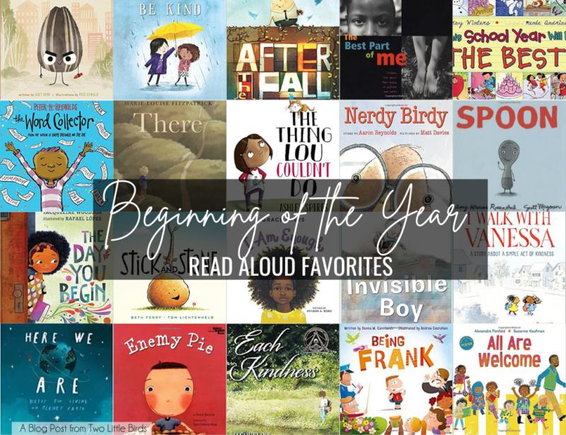 20 Favorite Back to School Read Aloud Books