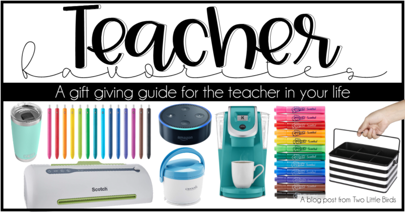 A Holiday Gift Giving Guide for Your Teacher