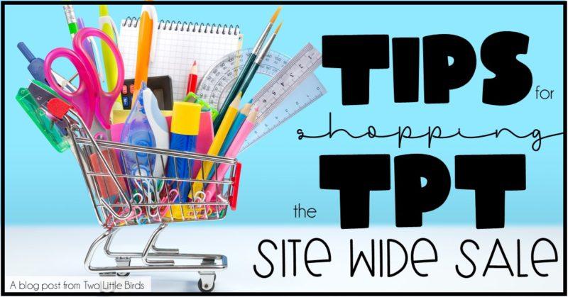 5 Tips for Shopping the Teachers Pay Teachers Sale