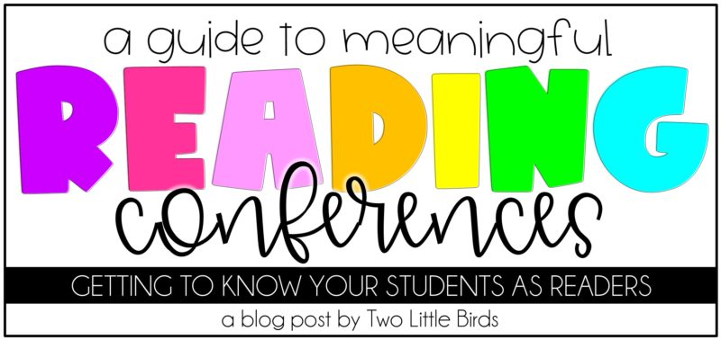 A Guide to Meaningful Reading Conferences
