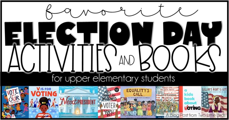 Favorite Election Day Books and Activities