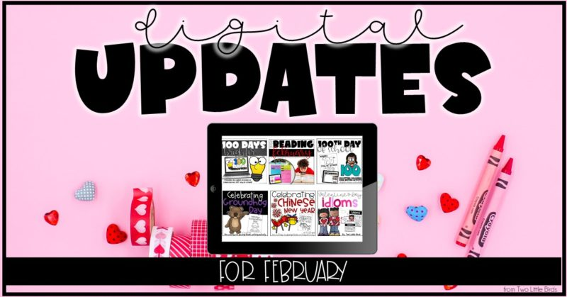 Digital Resources & Updates for February