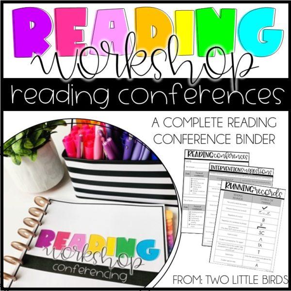 reading conference binder