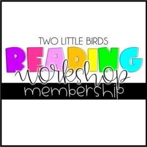 reader's workshop yearlong unit