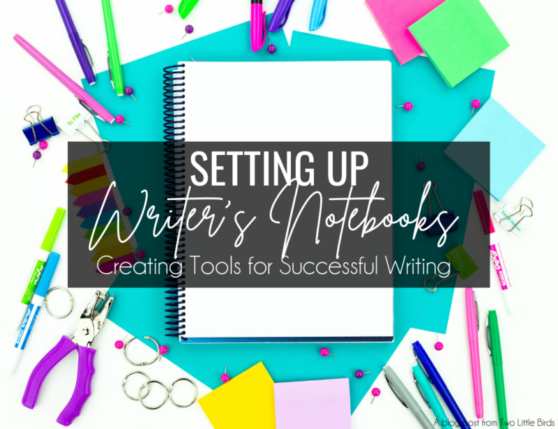 Setting Up Writer's Notebooks: Creating Tools for Successful Writing