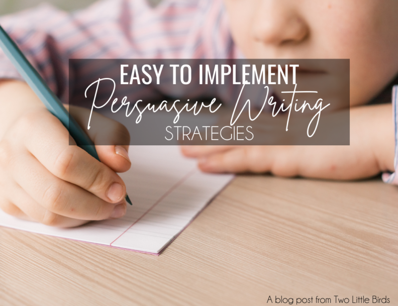 Easy to Implement Persuasive Writing Strategies