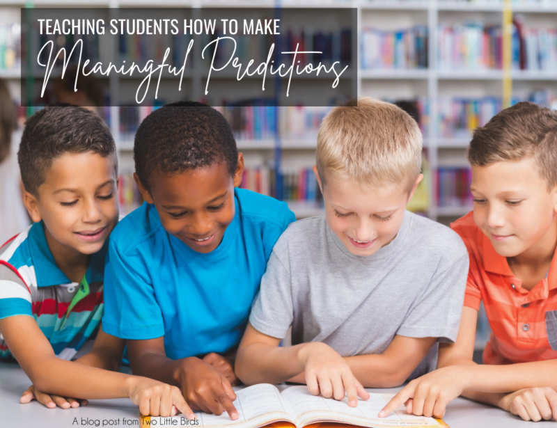 How to Teach Students to Make Meaningful Predictions