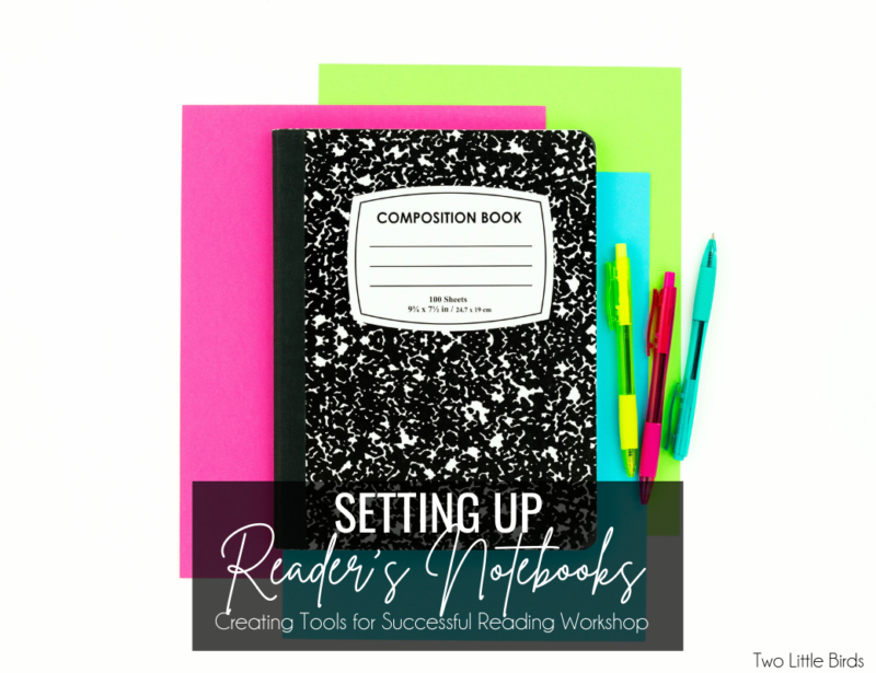 How to Set Up Student Reader's Notebooks