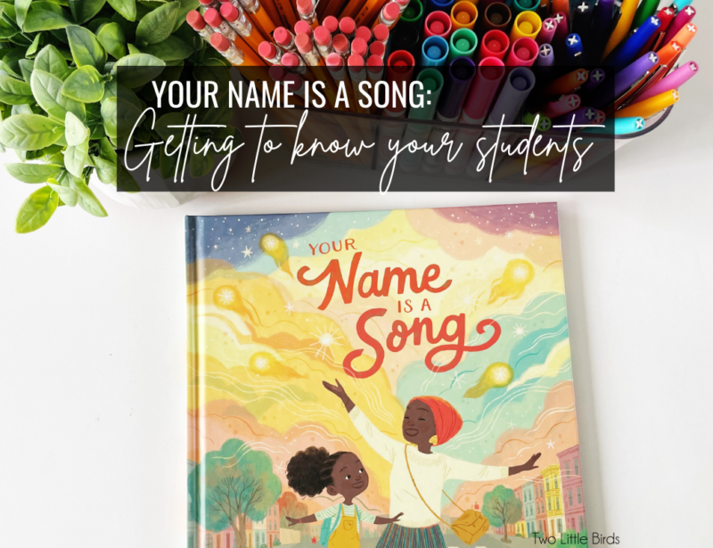 Your Name Is A Song: Getting to Know Your Students