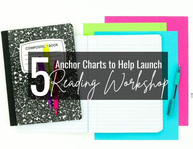 5 Anchor Charts You Need to Launch Reading Workshop