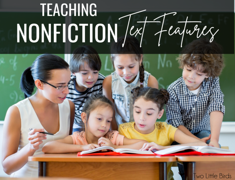 How to Teach Nonfiction Text Features