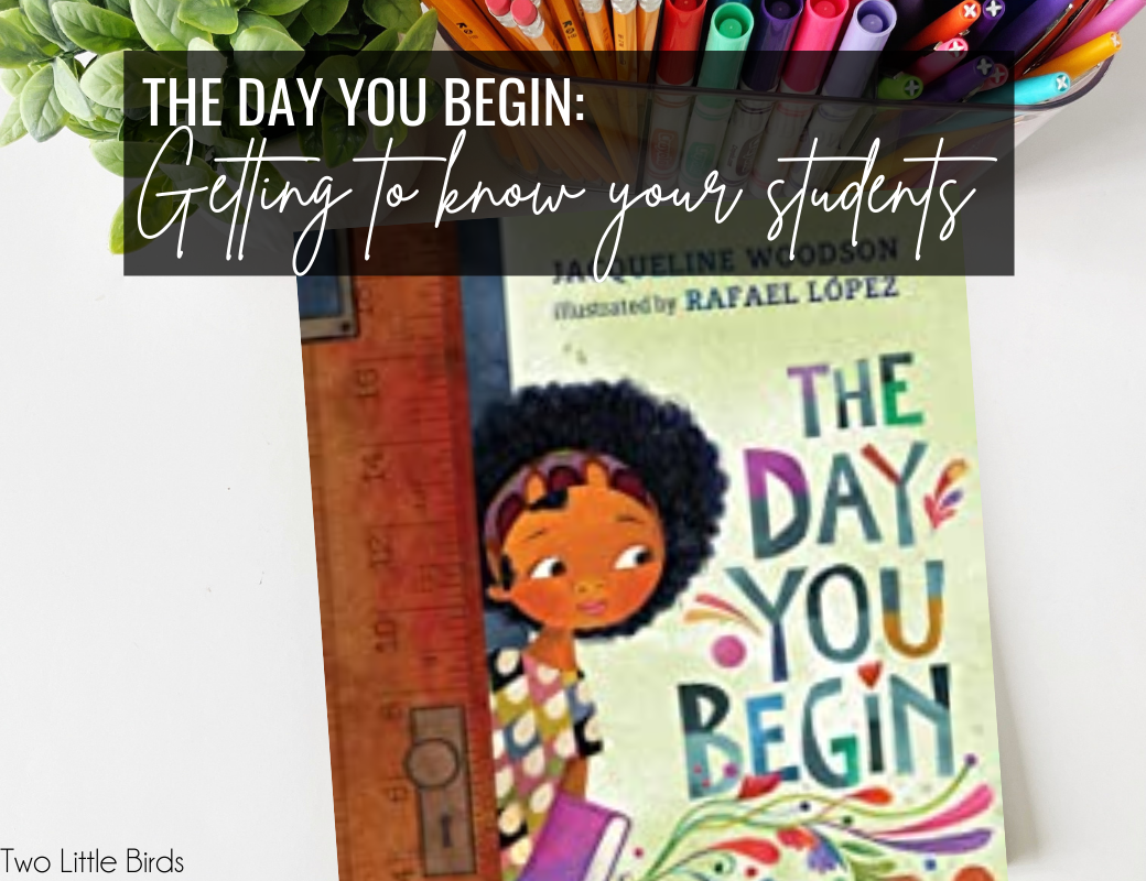The Day You Begin: Favorite Getting to Know You Activities