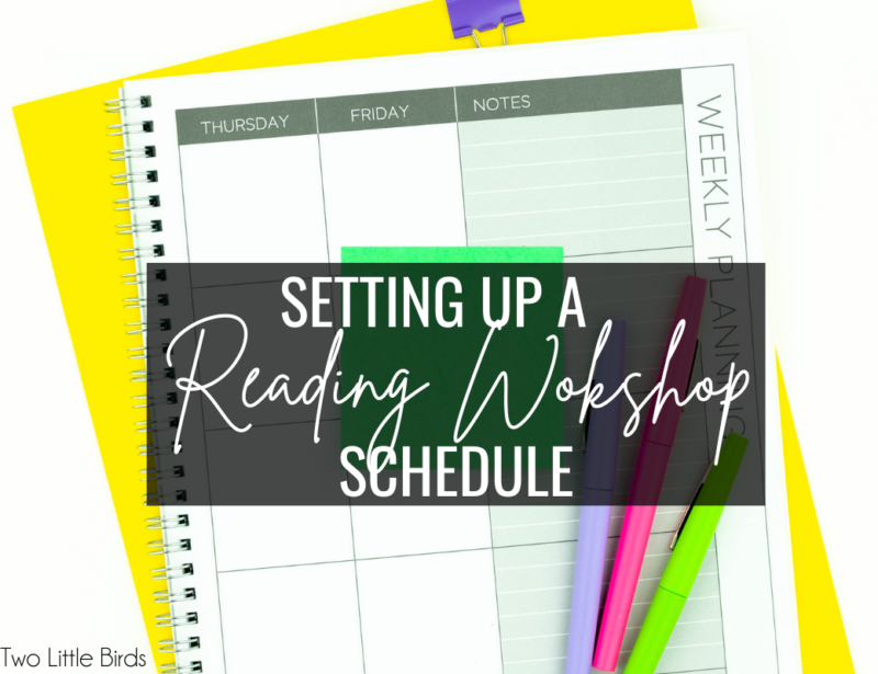 How to Make a Reading Workshop Schedule with Limited Time